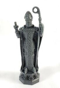 "Mattel Harry Potter Wizard 2002 Chess Game Bishop Dark Gray Replacement 4.25"""