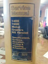 140H 160H Service Shop Manual Motor Grader Cat 3304B 3306B Testing adjusting