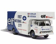 Exoto 43 / ELF Tyrrell-Ford F1 Race Car Transporter / Scale 1:43 / # EXO00006