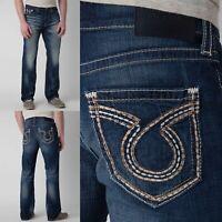 Mens Big Star Vintage Jeans Low Rise Union Slim Straight 30 31 32 33 34 36 38 40