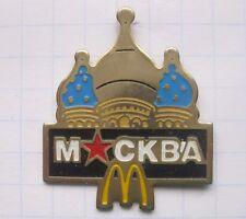 M / MOSKAU/ KREMEL      ............. Mc Donald´s-Pin (134g)