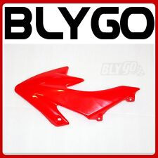 Red Plastic Front RIGHT Tank Side Guard Fender CRF50Style PIT Trail Dirt Bike