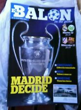 REAL MADRID v WOLFSBURG / ATLETICO BARCELONA programme 12.4.16 Champions League