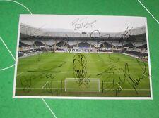 Swansea City FC Stadium Photograph Signed x 12 2013/2014 Premier League Players