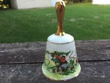 Danbury Mint The Fairy Tale Bells Jack and the Beanstalk Bone China Bell No. 7