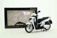 Honda 1:12 escala; Honda SH 125i motocicleta; Blanco Perla; Excelente En Caja