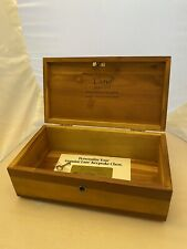 VINTAGE LANE CEDAR KEEPSAKE CHEST ROYAL FURNITURE EMMAUS PA EMAUS ORIGINAL KEY