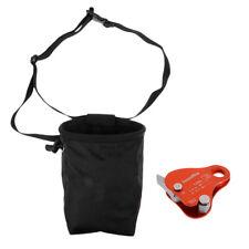 24Kn Rope Grab Protecta & Rock Climbing Climber Caving Chalk Bag Giving Bag