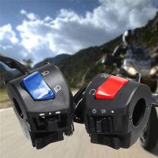 2X 7/8 22mm Motorrad Scheinwerfer Lichtschalter Lenkerschalter Blinkerschalter .