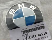 Bmw 82mm Blue White Bonnet or Boot Badge Emblem E36 E46 E60 E90 X5 E91 E61