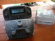 Opel Insignia CD Player radio mando de clima mando de info display 13321292 Kit