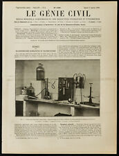 1909, Curie : Etude des substances radioactives