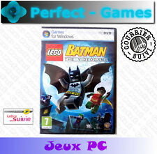 LEGO BATMAN le jeu vidéo the video game PC Games jeux PC neuf new sous blister