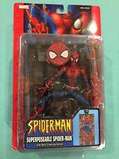 Marvel Legends Spider-Man Classics Mcfarlane Superposable Wall Climbing Toy Biz