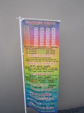 "BANNER POLE NOBORI POLE ONLY FOR BANNER UP TO 24"" X 84"""