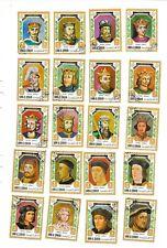 Kings And Queens Of Britain; William 1 To Elizabeth 2; C.T.O.1971 Umm Al Qiwain.