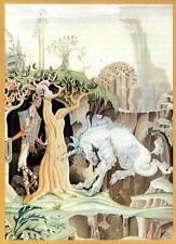 Authentic Vintage Kay Nielsen Art Deco Nouveau Fairy Tale Print