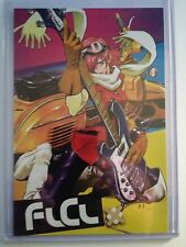 "2009 SDCC COMIC CON FLCL DVD COLLECTION ADVERTISMENT CARD (APROX. 4"" x 6"")"