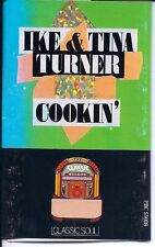 """Cookin'"" Ike and Tina Turner  Used Cassette (Classic Soul Series /Jem Records)"