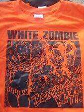 White Zombie Zombie Kiss Shirt Choose Size S/M/L/XL black orange green colors