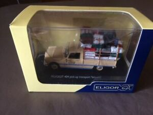 Peugeot 404 pick-up transport brousse - ELIGOR - 1/43