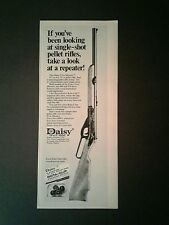 1972 Daisy Single Shot FIVE~SHOOTER BB Gun Air Rifle Toy 4 3/4 × 12 Trade AD