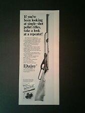 1972 Daisy Single Shot FIVE~SHOOTER BB Gun Air Rifle Toy 4 3/4 × 12 Trade AD