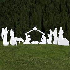 Outdoor Nativity Store Silhouette Outdoor Nativity Set – Full Scene