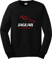Jaguar Racing Car Sport Long Sleeve Black T-Shirt Men or Women Apparel