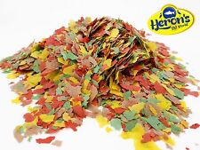More details for herons goldfish flakes tropical fish food tetra goldfish guppy