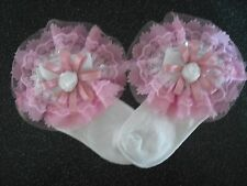 3-5 /& 6-8 0-2 6 PAIRS OF GIRLS FIFI AND THE FLOWERTOTS SOCKS SIZES R.R.P £9
