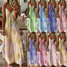 Womens CAMI Swing Strappy Ladies Sundress Maxi Floral Fitted Holiday Long Dress