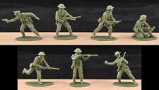 Airfix WWII British Infantry - 14 figures - 1990s production mint dealer stock