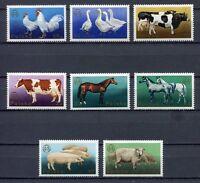 35888) Poland 1975 MNH European Zootechnical Fed. 8v
