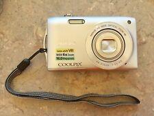 Nikon COOLPIX S3300 Digital Camera - Silver