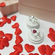 anello cuore argento 925