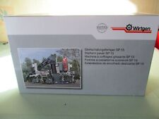 NZG WIRTGEN MACHINE à COFFRAGES GLISSANTS SP 15 + boite éch 1:50 réf 8071