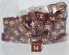 50 Coat Hanger Size Cubes Womenswear  Size 14  MAROON