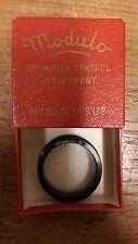 VINTAGE lente della fotocamera: definizione modulo controllo allegato 32 MM IN SCATOLA ORIGINALE