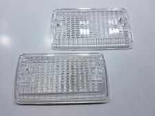 MK1 FORD ESCORT CLEAR INDICATOR LENSES RS2000 RS MEXICO AVO RS1600 TURN SIGNAL