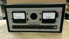 Motorola Low Band 30-50 MHz FM Station Monitor Receiver WWV Rare Vintage T-1100A