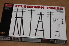 Miniart (35541a): Telegraph Poles au 1/35