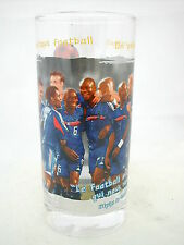 * COCA COLA® VERRE FOOTBALL 2006 13.5 cm x 6.2 cm Ø