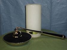 Neiman Marcus Unity Candle with Snuffer Set in Nice Keepsake Box, BNIB, #1001