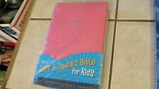 Zondervan Kids Gift & Award NIV Bible - PINK + List of Teachings, Miracles+  NEW