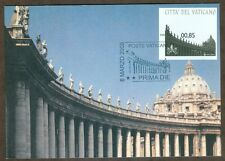 Vatican City 2008 Colonnade Vending Label, Maxi Card