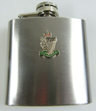 RIR Royal Irish Rangers Regiment Badged Hip Flask