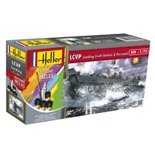 Heller 1/72 LCVP Landing Craft Vehicle & Personel Gift Set # 56995