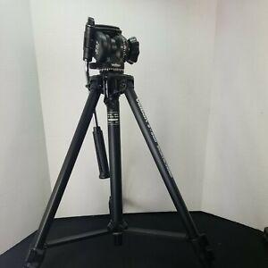VIntage Velbon Tripod S 600 35mm Camera Picture Stable Video