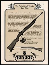 1963 RUGER Model RS Deer Rifle AD w/Standard Model shown w/original prices